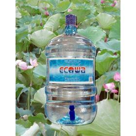 Nước tinh khiết ecowa 19l