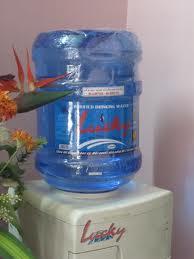 nước tinh khiết lucky bình 19l