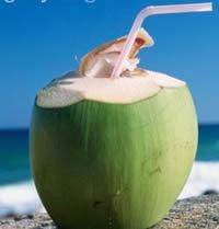 Những lưu ý khi uống nước dừa